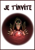 invitation sorcier magie noire