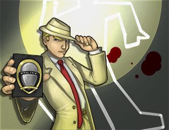 Carte d'invitation Murder Party