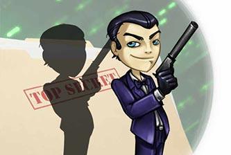 Carte Invitation Espionnage