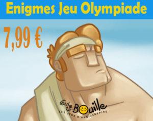 enigmes des jeux olympiques
