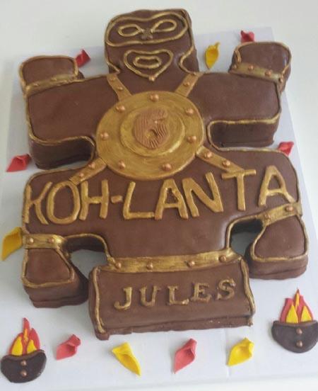 gâteau koh-Lanta