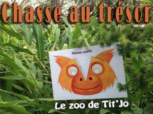chasse au trésor zoo